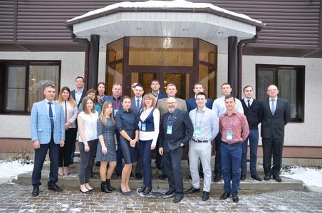 Участники семинара-совещания специалистов поохране труда