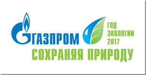 2017год объявлен вРоссии иПАО «Газпром» «Годом экологии»